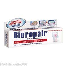Biorepair oral care toothpaste 75ml - Fast Sensitive Repair Free Shipping
