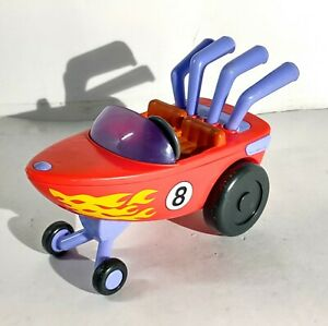 Fisher Price Imaginext Spongebob Squarepants Speed race car Boat Mattel 2014