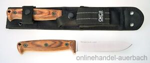 ONTARIO Bushcraft Field Knife (8696)  Messer  Outdoor  Survival
