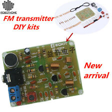 88-108MHz FM Frequency Modulation Wireless Microphone Module DIY Kits DC 3-6V