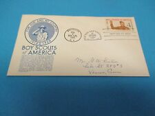 First Day Cover, Boy Scouts of America 1910-1960, 1960, FDC
