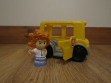 Fisher Price Little People School Bus with Sofie in very good used condition
