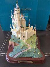 Disney Enchanted Places Sleeping Beauty's Castle Large Figurine - 1998
