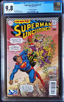 Superman Unchained (2013 DC) #5 Garcia-Lopez Silver Age Variant CGC 9.8 1:50
