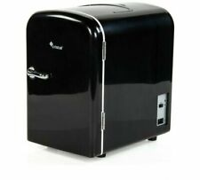 4 Litre Black Mini Travel Fridge Along With You In The Car Or Out Camping NEW