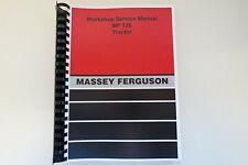 MF135 Shop Manual Massey Ferguson    Workshop Service Manual