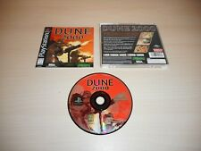 Dune 2000 Complete Playstation 1 PS1 Game CIB