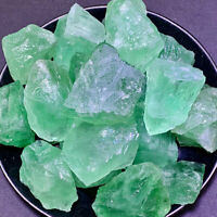 1kg/2.2LB Natural Green Fluorite Raw Crystal Quartz Healing Stone Wholesale Bulk