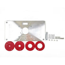 Multifunctional Router Table Insert Plate Woodworking Benches Aluminium M4U2