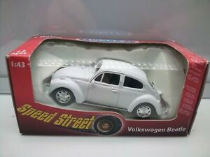 Welly 1:43 Scale / VW Beetle - White - Model Car