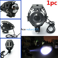125W Waterproof U5 LED Motorcycle Headligh 3000LM CREE  Driving Spot Laser Lamps