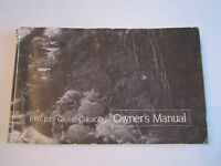 1997 JEEP GRAND CHEROKEE OWNER'S MANUAL - TUB D