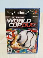 THE ULTIMATE WORLD CUP QUIZ  (Sony PlayStation 2)  PS2 - NEW SEALED