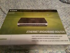 D-Link Ebr-2310 4-Port 10/100 Wired Router