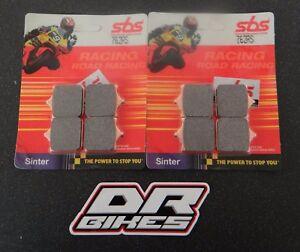 Ducati 999 R 03 04 05 06 07 SBS Race Sintered Front Brake Pads 762RS