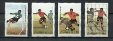 s6165) ZAMBIA 1986 MNH** WC Football'98-CM Calcio 4v