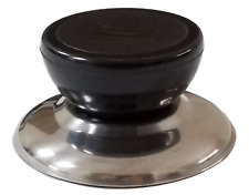 Horizon Cookware Universal Replacement Pot Lid Cover Knob Handle - Black/Round