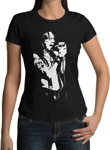 Axl Rose Rock Icon Caricature New Womens T-shirt