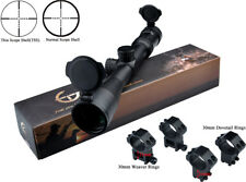 Freeship New Fortune 3-9x44 Thin Scope Shell (TSS) Rifle Scope W/2 kind of Mount