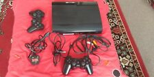 Sony Playstation 3 Super Slim 500GB Plus 2 controllers and 6 games also included