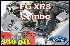 FORD FG XR8 GROWLER COMBO - SS INDUCTIONS GROWLER COLD AIR INDUCTION KIT
