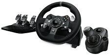 Logitech G920 Driving Force Racing Wheel + Logitech G Driving Force Shifter B...