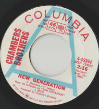 Chambers Brothers * Nuova generazione * NOI PROMO COLUMBIA 4-45394 svolge Grande