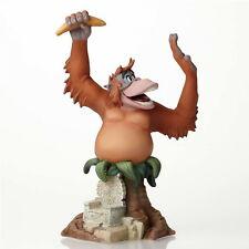 """Enesco Disney Sculpture """" KING LOUIE - LIVRE DE LA JUNGLE """" Grand Jester"""