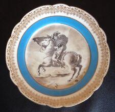 G. Boutigny Royal Paris Porcelain Display Plate With Image Of Napoleon Bonaparte