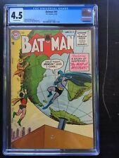 BATMAN #91 CGC VG+ 4.5; OW; Moldoff art! rare!