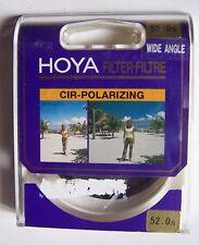 #) filtre polarisation circulaire HOYA 52.0s WIDE ANGLE