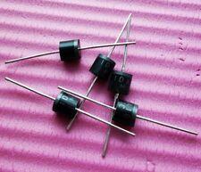 100pcs New 10A10 10 Amp 10A 1000V 1KV Axial Rectifier Diode