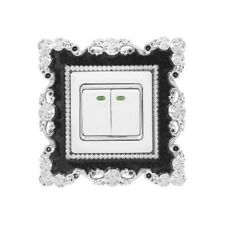 Resin Single Light Switch Surround Socket Finger Plate Panel Cover Fashion Decor
