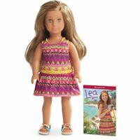 "BRAND NEW IN BOX American Girl 6.5"" Lea Mini Doll & Book Set NIB Sealed RETIRED"
