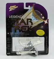 Johnny Lightning STAR TREK Series 3 CLOAKED Romulan BIRD OF PREY Uncharted