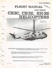 CH-3C, CH-3E, HH-3E Flight Manual Helicopter Manual  1973   (CD version)