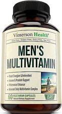 Vitaminas Para Hombres Mayores De 40 Años - Recupera Tu Energía Y Vitalidad