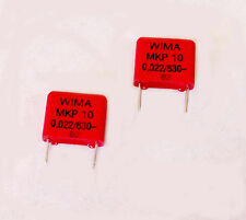 CONDENSATORE 22nf 630v WIMA mkp10 YAMAHA AMPLIFICATORE Alimentatore riparazione 2 pezzi!