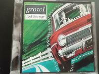 GROWL   -   FEEL  THIS  WAY  ,   CD    1995   , INDIE   ROCK