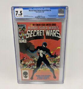 MARVEL SECRET WARS #8 (1984) Origin Symbiote Costume Venom CGC 7.5