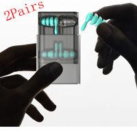 Reusable Noise Cancelling Ear Plugs, Soft Silicone Earplugs for Sleep Swim Work