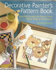 Decorative Painter's Pattern Book : Over 500 Designs for Paper, Glass, Wood, ...