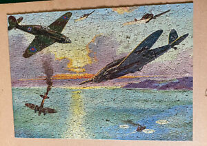 Vintage Jigsaw Puzzle, Triumph Of The Hurricanes 400 Piece Jigsaw Complete