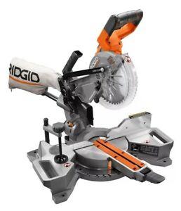 RIDGID 18V Brushless Cordless 7-1/4-inch Mitre Saw (Tool-Only)