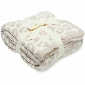 The Wild Throw Stone Cream Soft Blanket Barefoot Dreams CozyChic Barefoot in