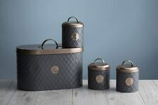 Typhoon Henrik 4 piece Bread and Canister Set with Copper Lids  [HK4]