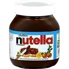 lot 3 Pâte à tartiner aux noisettes et au cacao 630 gr nutella
