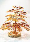 "Luxury Amber Tree of Happiness  Oak  9.5"" (~25cm) 630  Baltic  Amber Stones"