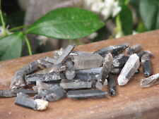 25 grams Raw Smokey Quartz Crystal Points & Pieces Small - Omni New Age