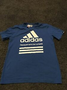 boys adidas t shirt 13 14